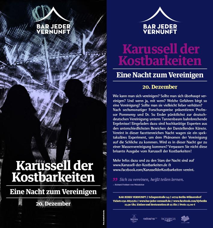 """20. Dezember 2014  """"Eine Nacht zum Vereinigen"""""""